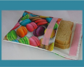 Sandwich Bag / Ecological Bag / Snack Bag / Snack Bag / Reusable Bag / Zero Waste
