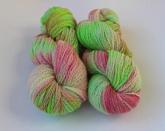 "100% alpaca Colourway ""In A Spring Mood"", 100 g- 240 m, Handdyed yarn,indiedyed yarn,пряжа ручного крашения,пряжа ручной работы,купить пряжу"