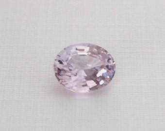 GIA Certified 1.97 Cts. Oval Cut Light Pink Sapphire