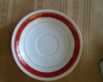 Chugai China Saucer Made in Occupied Japan