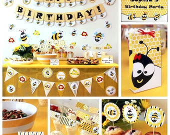 Bumble bee birthday bumble bee party bumble bee party bumble bee birthday printables bumble bee party honey bee birthday bumble bee party filmwisefo Images