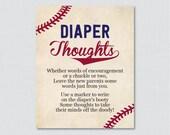 Baseball Baby Shower Diap...