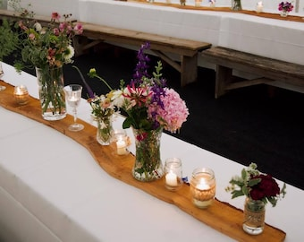 Rustic Log Slices  - Woodland Wedding - Table Runners