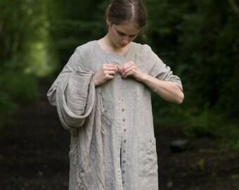 COUNTRY linen dress / coat