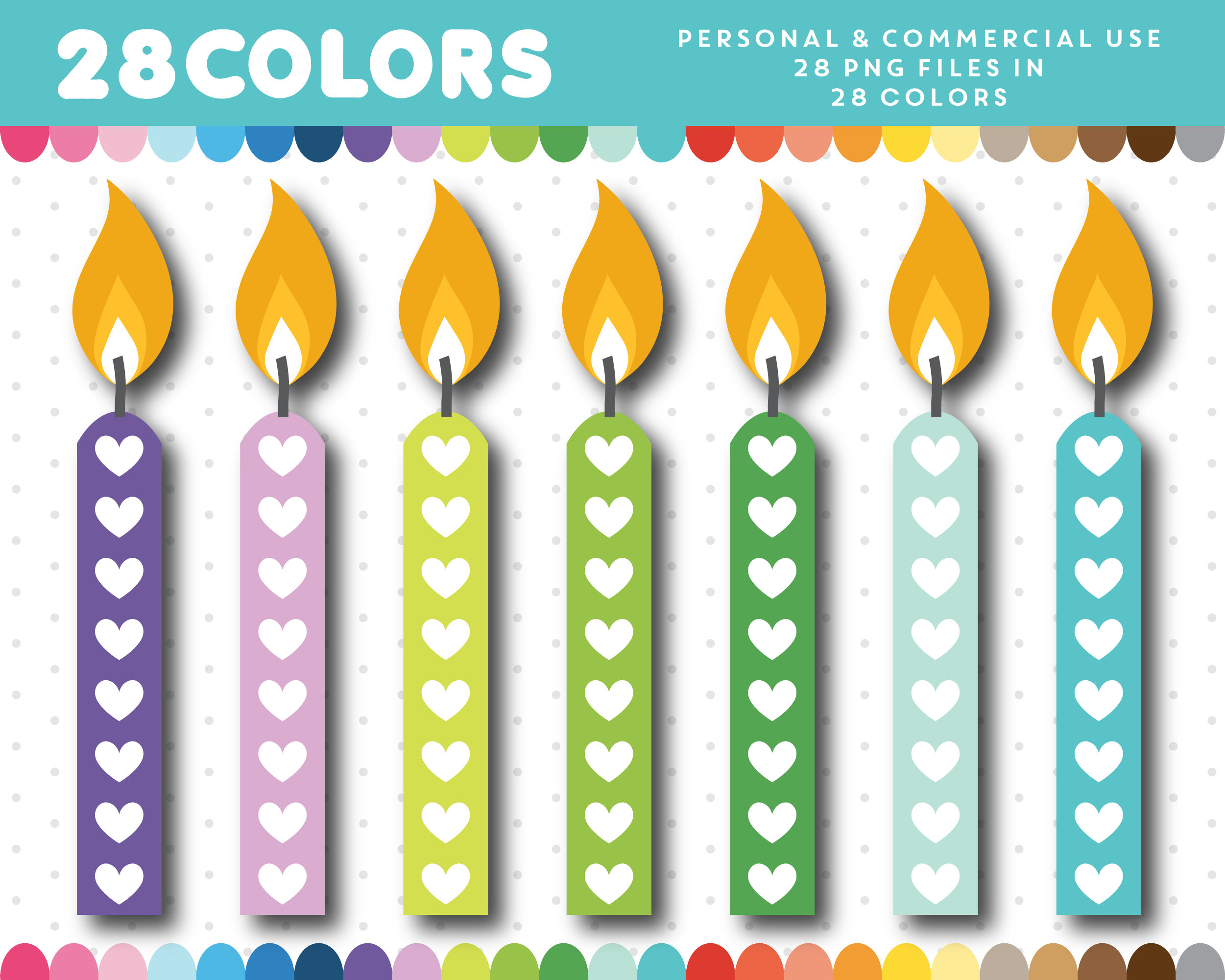 candle clip art birthday candle clipart birthday cake clipart rh etsystudio com birthday candle clipart animated birthday candle clipart images free