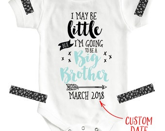 Big Brother Announcement, I'm Going to be a Big Brother Shirt, Pregnancy Announcement, Pregnancy Reveal, New Brother, Big Brother Outfit
