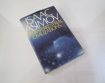 Isaac Asimov Extraterrestrial Civilizations 1979 Hardcover