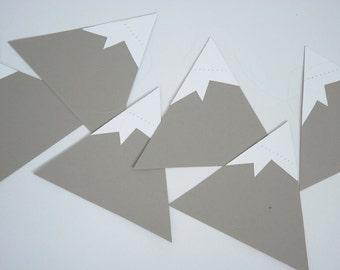 paper mountain garland