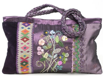 Vintage Bouquet Bag