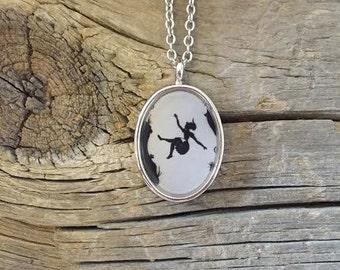 Down the Rabbit Hole Pendant Necklace