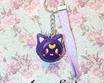 Luna from Sailor Moon keychain