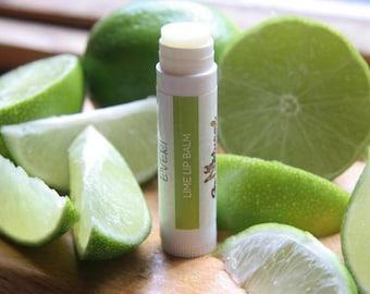 Lime Beeswax lip balm. Sensitive skin. 100% Natural. Gluten Free. .15oz