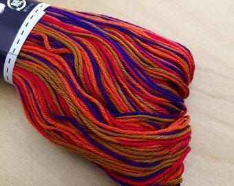 Olympus #174 Japanese sashiko thread variegated autumn evening 100 meter skien