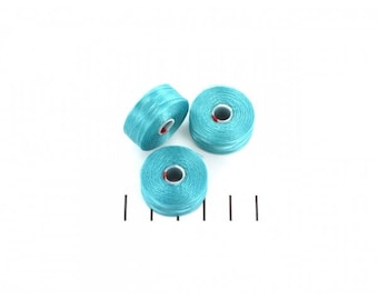 Wire coil for C - Lon D turquoise beadwork