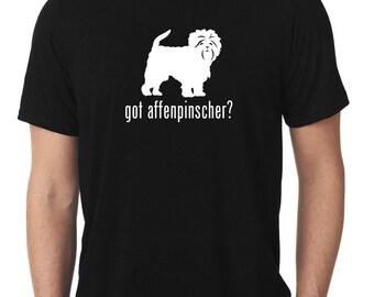 Got Affenpinscher T-Shirt monkey dog T552