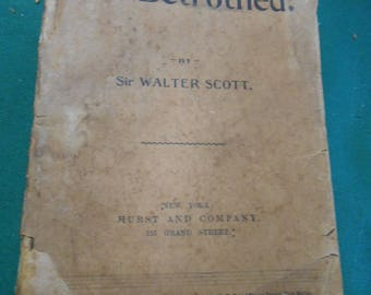 Antique Book-1894 THE BETROTHED