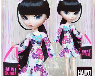 """Pullip Doll Haunt Couture """"Haunted Blossom"""" high fashion doll clothes 