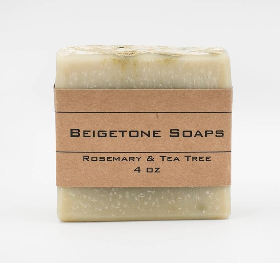 Rosemary and Tea Tree | 4oz | Insect Repelling Essential Oil Bar
