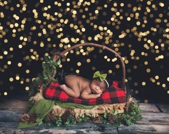 Olive Bow, Bow Headband, Baby Headband, Baby Girl Headband, Newborn Headband, Bow Headband, Felt Headband, Baby Bows, Christmas Baby