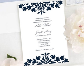 Kallie Wedding Invitation