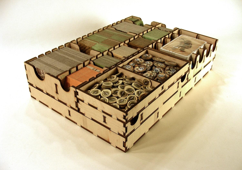 Caverna Brettspiel Holz-Einsatz Veranstalter Spiel