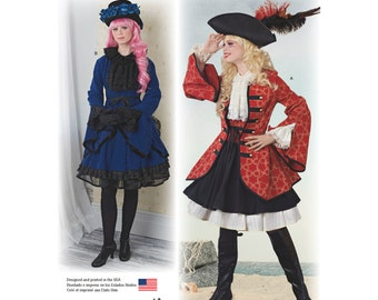 Simplicity Pattern 8285 Misses' Costumes from Lori Ann Costume Design