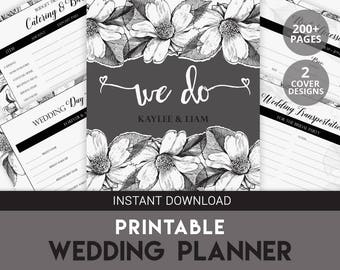 Wedding ebook | Wedding Planner Organizer | Wedding Planner | Wedding Planner Printable | Wedding Organizer