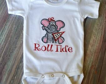 Alabama Baby Girl- Roll Tide Baby bodysuit