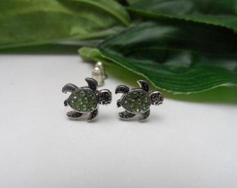 Turtle Stud Earrings, girls earrings, turtle earrings, birthday gifts, stud earrings, girls birthday gifts