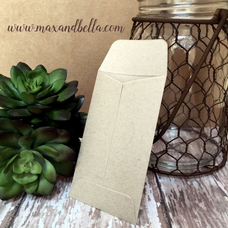 DIY Custom Seed Packets Sunflower, Custom Envelope, Kraft ...