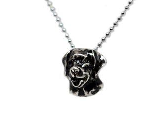 Labrador Retriever Necklace - Labrador Retriever Pendant - Lab Necklace - Lab Jewelry - Dog Necklace - Sterling Silver Necklace -Dog Jewelry