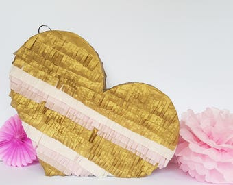 Heart Pinata : wedding, engagement party, hen party, birthday party, girls birthday