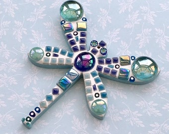 Fun Lily Mosaics D.I.Y. Mosaic Dragonfly Kit for adults and children