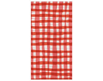 Picnic Napkins - BBQ Baby Shower - Watermelon Party - Gingham - Fruit Party - Watermelon Birthday - Summer Party - Picnic Party - Plaid