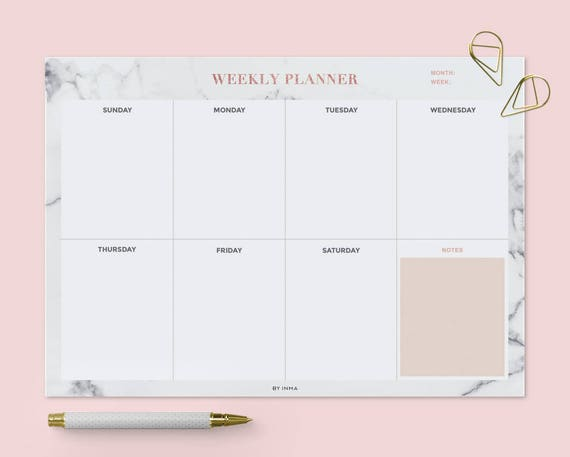 2019 Planner Yearly Calendar Printable Planner Calendar ...