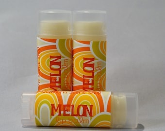 Melon -  Sweetened Lip Balm - Natural Lip Balm - Moisturizing Lip Butter