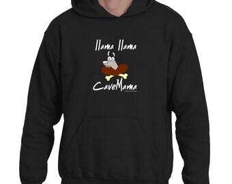 Llama Llama CaveMama Hoodie