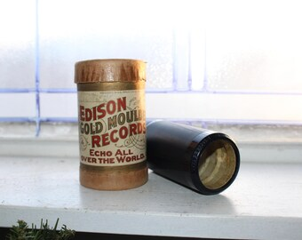 Antique Edison Cylinder Record 4666 Call Me Back Pal O Mine