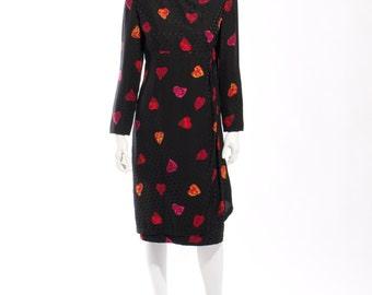 1980s Carolina Herrera Studio Neiman Marcus Dress