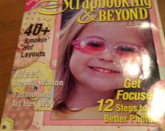 Scrapbooking and Beyond  magazine
