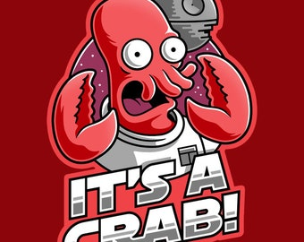 "LADIES FIT ""It's A Crab"" T-shirt"