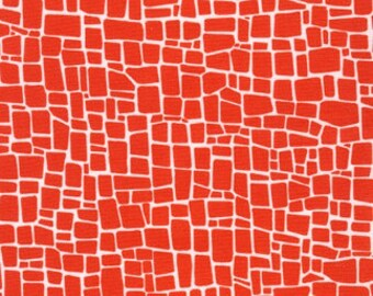 Red Dinosaur Skin from Robert Kaufman's Dinoroar Collection by Sea Urchin Studios
