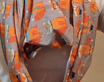 Foxy Scarf Infinity scarf