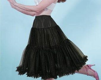 Claudia Black sparkle Petticoat - PRE ORDER