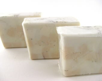 Soap Bar Homemade Soap Bar Soap Glycerin Soap Artisan Soap  Handcrafted Soap Skin Care Almond biscotti Soap gift for her