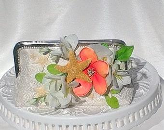 Beach Wedding / Bridal Handbag / Tropical Wedding / Destination Wedding