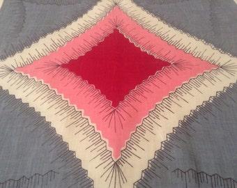 Midcentury Handkerchief