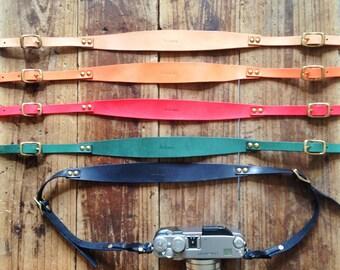 Artemis Leatherware Hand Stitched Leather Camera Strap (SUMMER SALE)