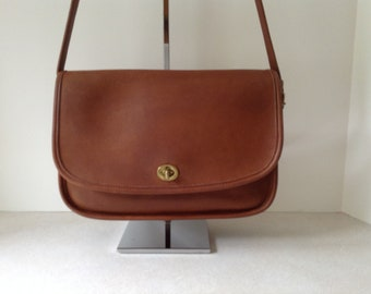 Coach Vintage City Bag In British Tan