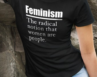 Wife Gift Wife Shirt Gift Girlfriend Gift Feminism Definition Shirt Feminism Shirt Funny Gift For Her Female Empowerment Shirt #OS228